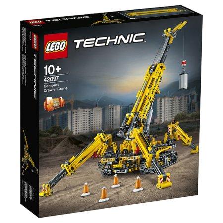 LEGO Technic 42097 - Kompaktní pásový jeřáb