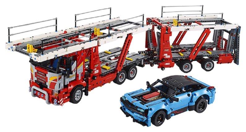 LEGO Technic 42098 - Kamion pro přepravu aut