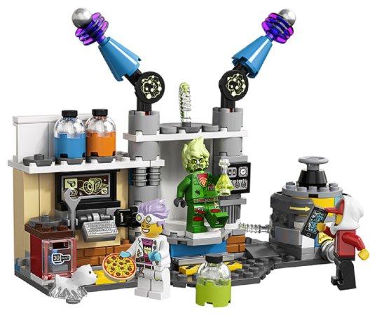 LEGO Hidden Side 70418 - J. B. a jeho laboratoř plná duchů