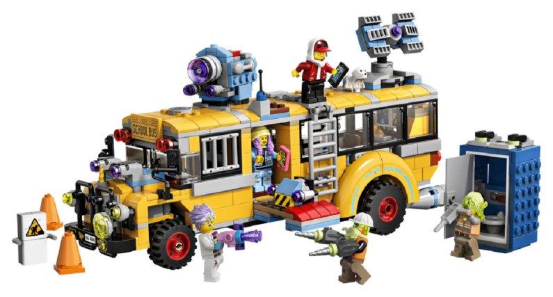 LEGO Hidden Side 70423 - Paranormální autobus 3000