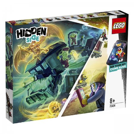 LEGO Hidden Side 70424 - Vlak duchů