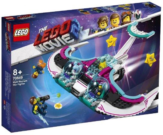 LEGO Movie 70849 - Zdivočelá Mela a její stíhačka