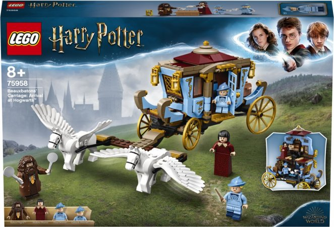 LEGO Harry Potter 75958 - Kočár z Krásnohůlek: Příjezd do Bradavic