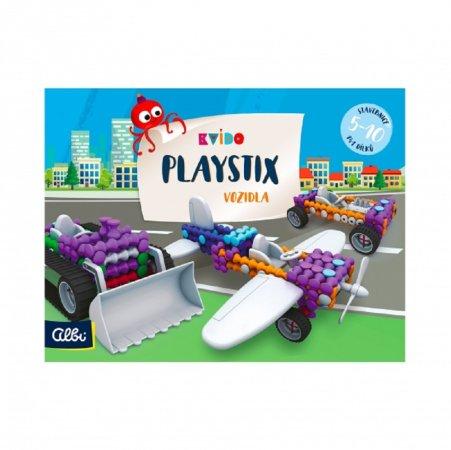 Albi Kvído - Stavebnice Playstix - Vozidla 141 dílků
