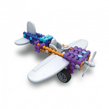 Albi Kvído - Stavebnice Playstix - Letadlo 26 dílků