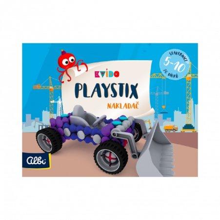 Albi Kvído - Stavebnice Playstix - Nakladač 26 dílků