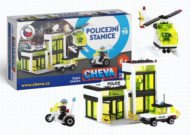 Cheva Stavebnice Cheva 19 - Policejní stanice