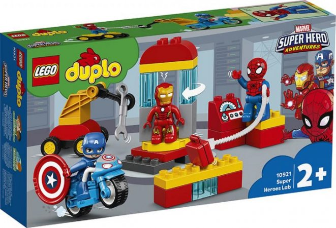 LEGO Duplo 10921 - Laboratoř superhrdinů