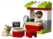 LEGO Duplo 10927 - Stánek s pizzou
