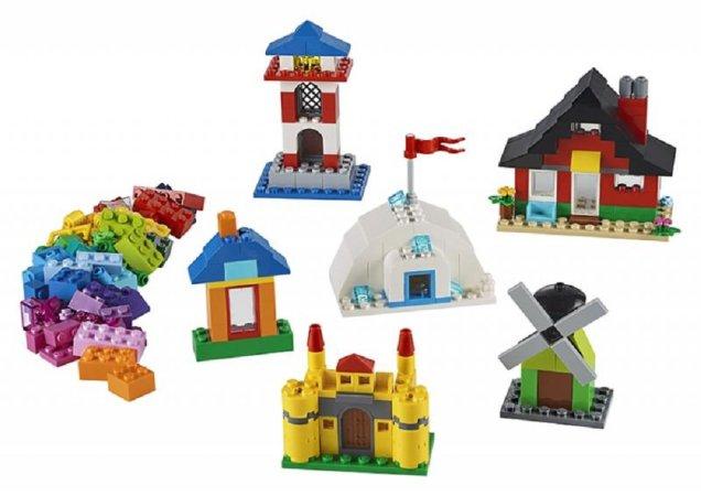 LEGO Classic 11008 - Kostky a domky