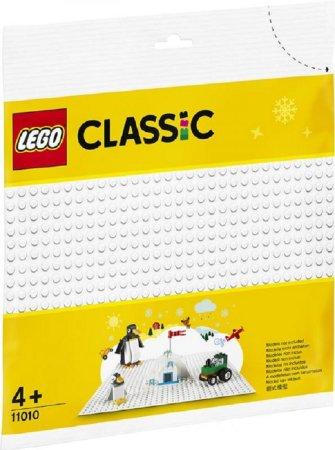 LEGO Classic 11010 - Bílá podložka na stavění