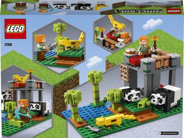 LEGO Minecraft 21158 - Pandí školka