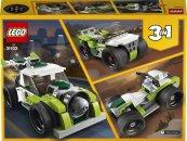LEGO Creator 31103 - Auto s raketovým pohonem 3v1