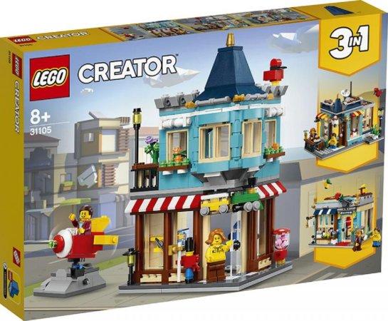 LEGO Creator 31105 - Hračkářství v centru města 3v1