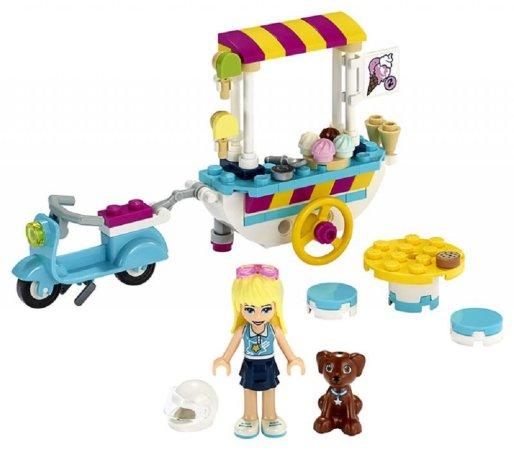 LEGO Friends 41389 - Pojízdný zmrzlinový stánek