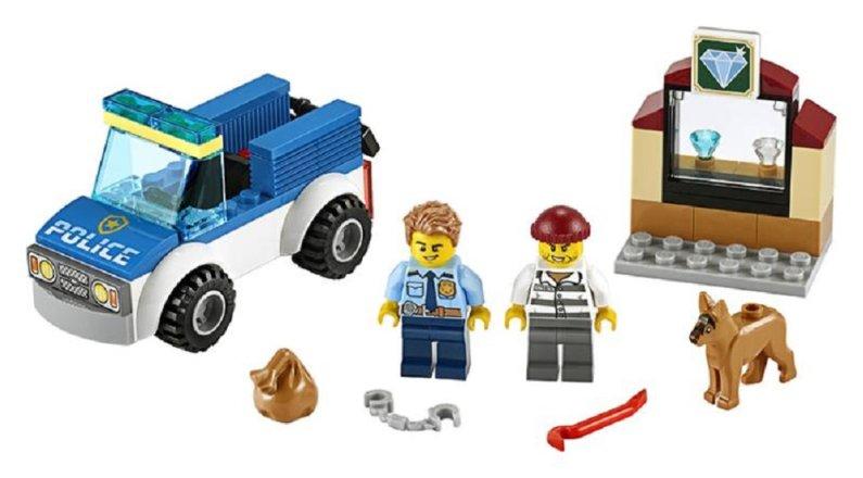 LEGO City 60241 - Jednotka s policejním psem
