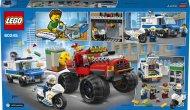 LEGO City 60245 - Loupež s monster truckem