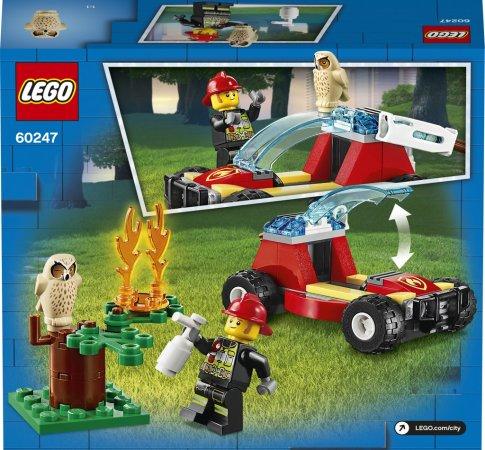 LEGO City 60247 - Lesní požár
