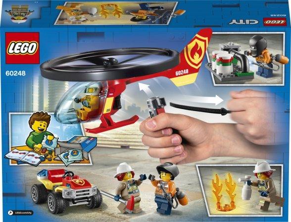 LEGO City 60248 - Zásah hasičského vrtulníku