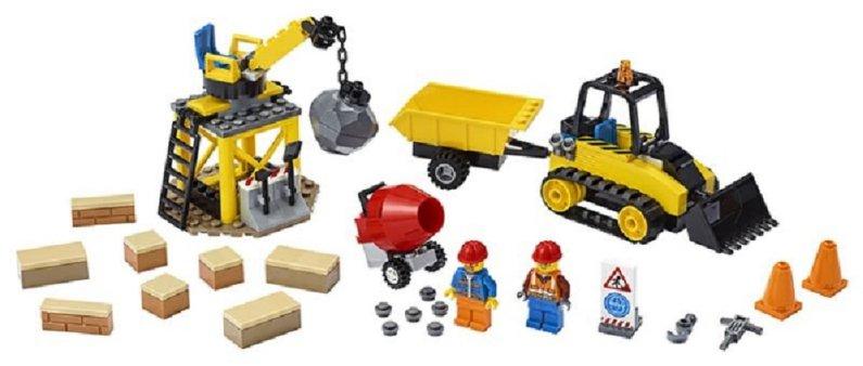 LEGO City 60252 - Buldozer na staveništi