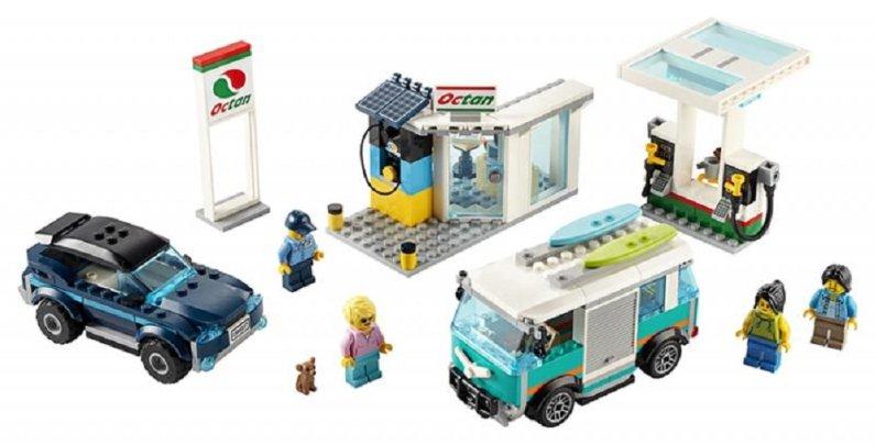LEGO City 60257 - Benzínová stanice