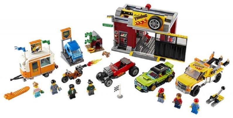 LEGO City 60258 - Tuningová dílna