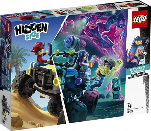 LEGO Hidden Side 70428 - Jack a plážová bugina