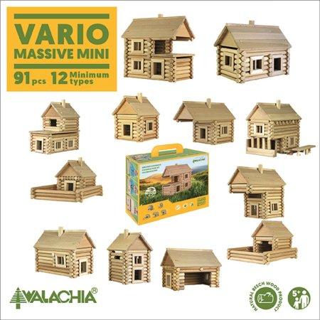 Walachia Stavebnice Walachia - Vario Massive mini - 91 dílů