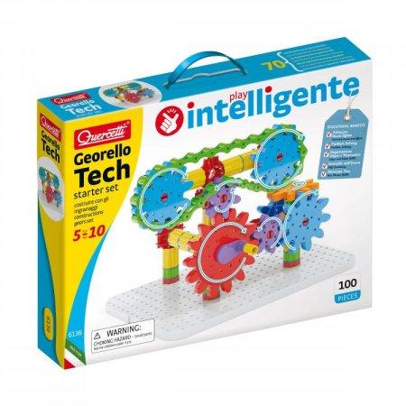 Quercetti Georello Tech starter set – Převodová stavebnice