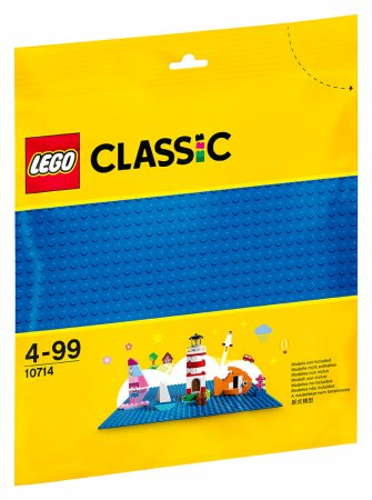 LEGO Classic 10714 - Modrá podložka na stavění