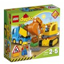 LEGO Duplo 10812 - Pásový bagr a náklaďák