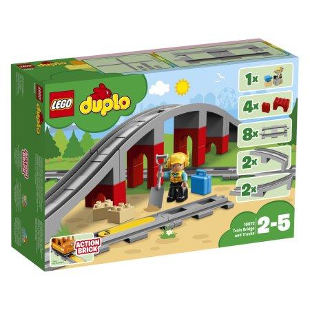 LEGO Duplo 10872 - Doplňky k vláčku – most a koleje