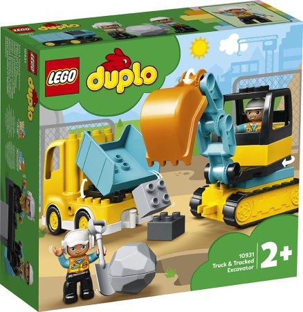 LEGO Duplo 10931 - Náklaďák a pásový bagr