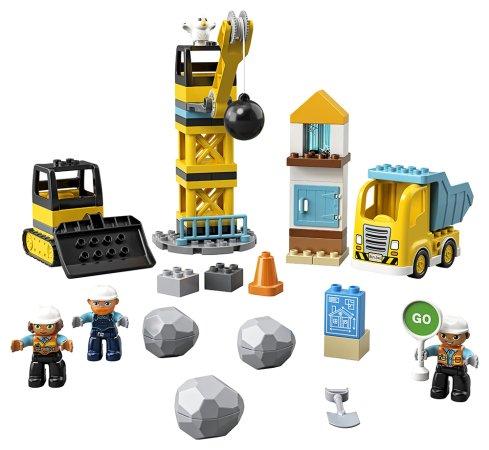 LEGO Duplo 10932 - Demolice na staveništi