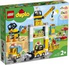 LEGO Duplo 10933 - Stavba s věžovým jeřábem