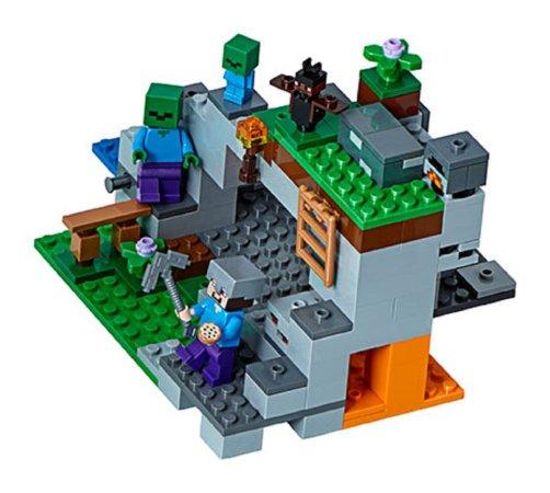 LEGO Minecraft 21141 - Jeskyně se zombie
