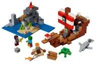LEGO Minecraft 21152 - Dobrodružství pirátské lodi