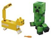 LEGO Minecraft 21156 - Velká figurka: Creeper a Ocelot