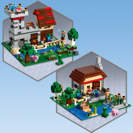 LEGO Minecraft 21161 - Kreativní box 3.0
