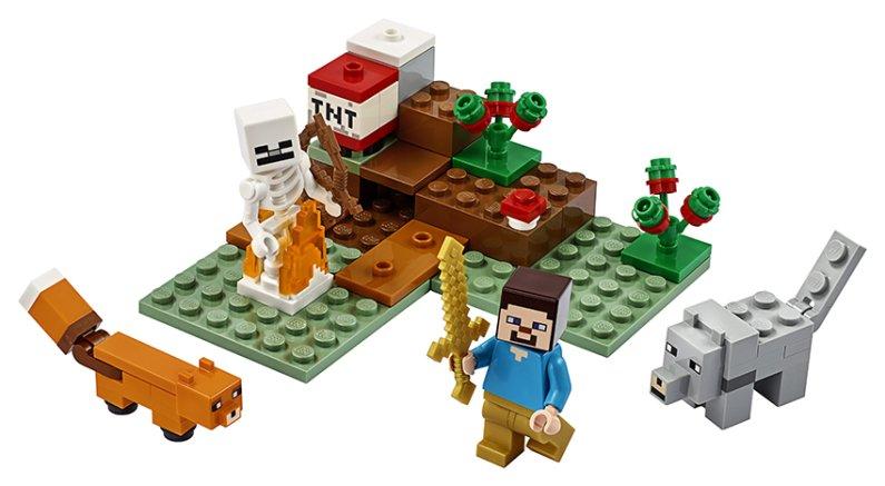 LEGO Minecraft 21162 - Dobrodružství v tajze