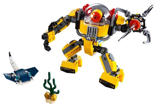 LEGO Creator 31090 - Podvodní robot