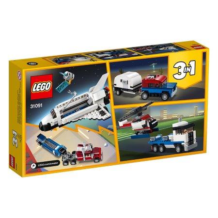 LEGO Creator 31091 - Přeprava raketoplánu