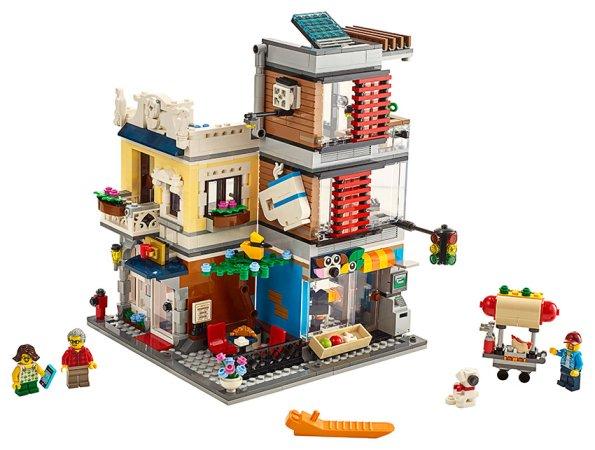 LEGO Creator 31097 - Zverimex s kavárnou
