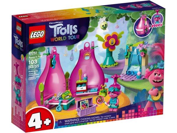LEGO Trolls World Tour 41251 - Poppy a její domeček