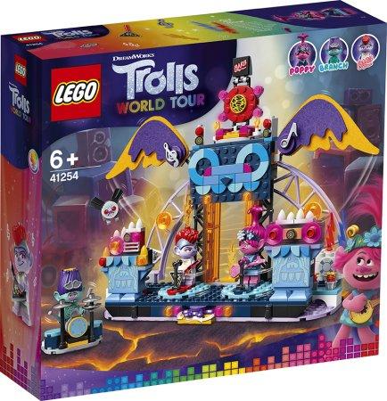 LEGO Trolls World Tour 41254 - Trollové a rockový koncert