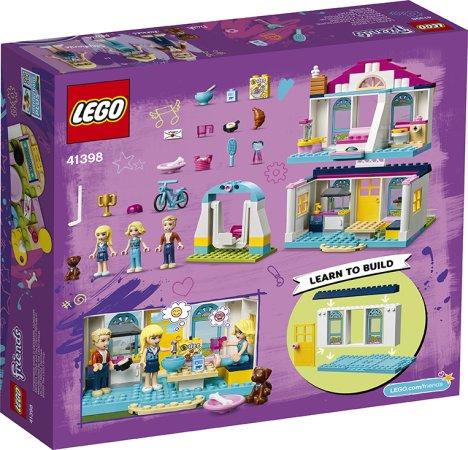 LEGO Friends 41398 - Stephanie a její dům