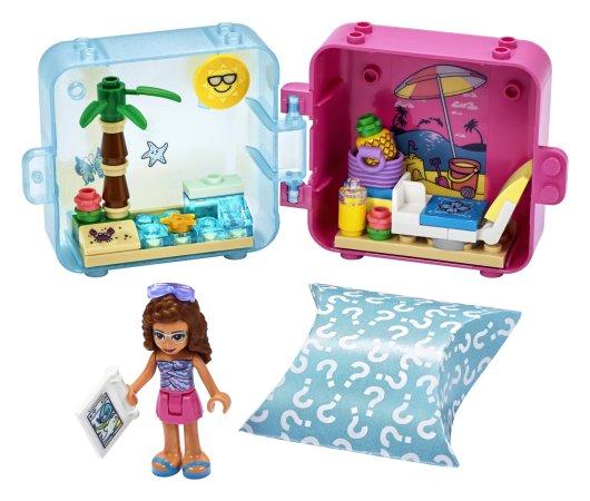 LEGO Friends 41412 - Herní boxík: Olivia a její léto