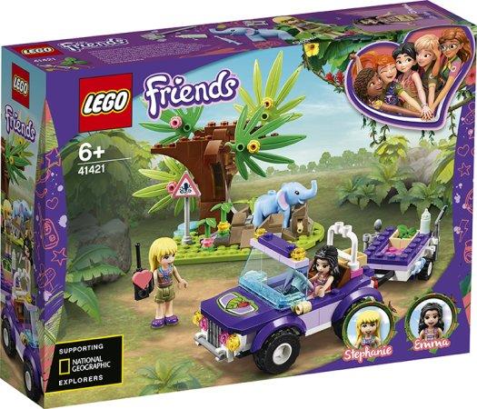 LEGO Friends 41421 - Záchrana slůněte v džungli