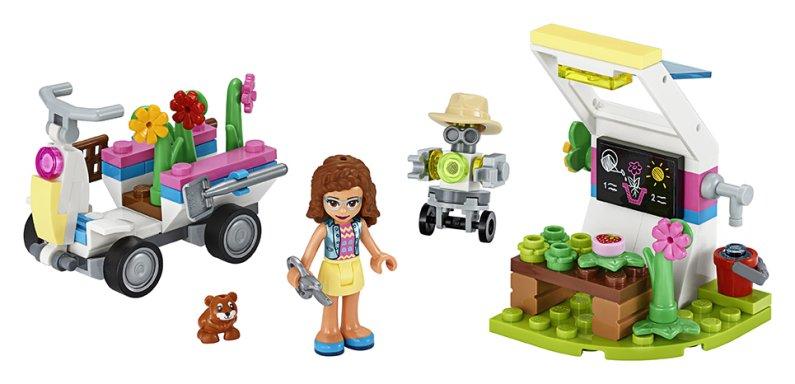 LEGO Friends 41425 - Olivie a její květinová zahrada