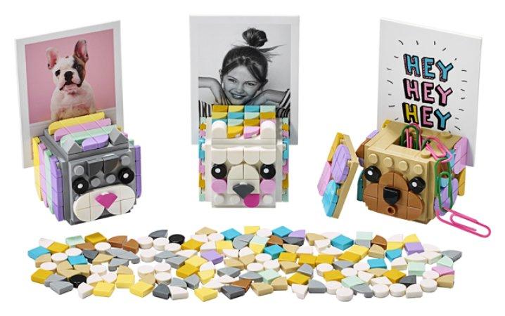 LEGO DOTS 41904 - Zvířecí stojánky na fotky